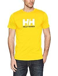 Helly Hansen Camiseta con Logo HH, Hombre, 33979, Sulphur, Small