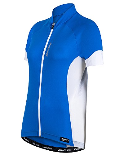 Santini 365 SP95475ORA - Santini Ora Womens Short Sleeve Jersey Turquoise Large
