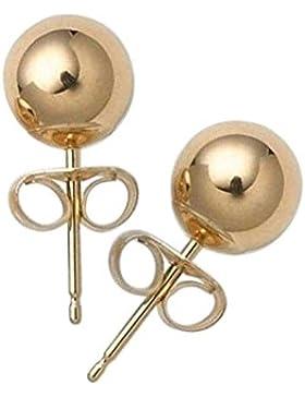 Bling Jewelry Kugel Ohrringe 14k Gelbgold Kugel Bolzen 8mm