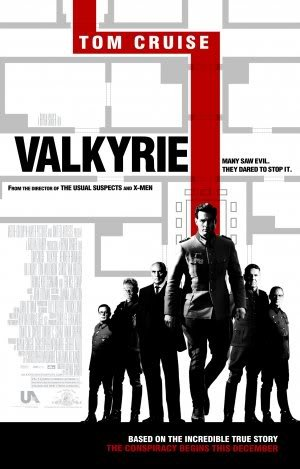 Valkyrie - Tom Cruise - Movie Wall Art Poster Print - 43cm x 61cm / 17 Inches x 24 Inches A2