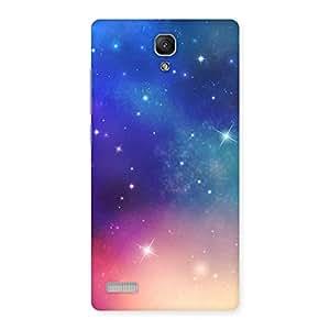 Neo World Galaxy Back Case Cover for Redmi Note