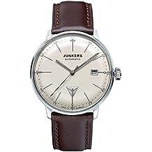 Junkers Reloj Analógico Automático para Hombre con Correa de Cuero – 60505