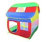 KJZhu Kinderzelt, Indoor und Outdoor Große Spielhaus Spielzeug Zimmer Haus Modellierung Gefaltet...