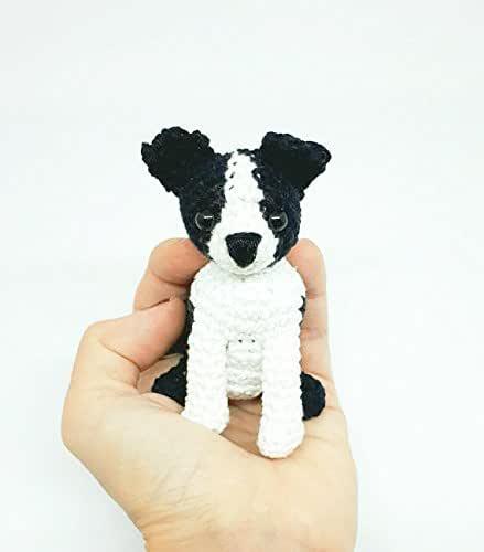 Kids toys Crochet Boston Terrier, Boston Terrier stuffed animal ...   500x439