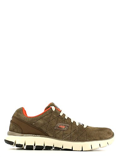 Skechers (SKEES) Skech-flex - Natural Vigor, baskets sportives femme brown (BROR)