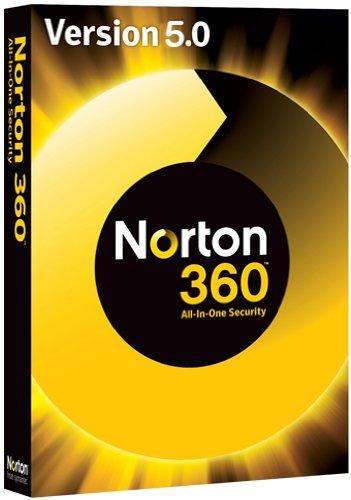 NORTON 360 V5.0 1 PC – inkl. Updatemöglichkeit auf Version 6.0