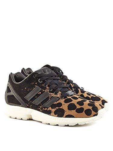adidas Zx Flux W, Baskets Basses Femme Black