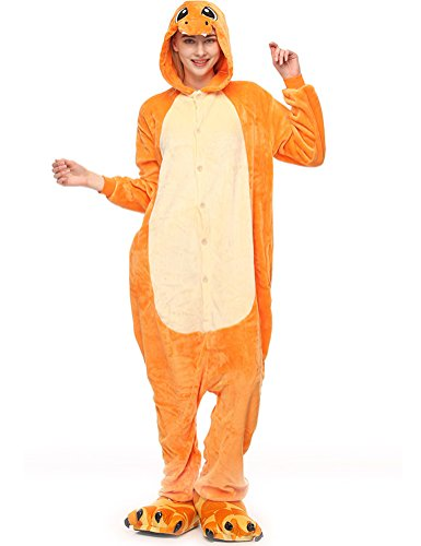 SWISSWELL Unisex Erwachsene Onesie Kostüm Jumpsuit Schlafanzug,Hausanzug,Jogginganzug,Tier Cosplay kostüm,Schlafanzug Hoodie Onesie Nachtwäsche Pyjamas Tieroutfit mit Kapuze Tiger L