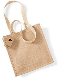 Westford Mill Einkaufstasche aus Jute W406, Farbe:Natural