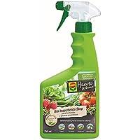 Compo Bio Stop Insecticida para hortícolas, Apto para Agricultura ecológica, Control de plagas en hortalizas y Plantas aromáticas, 750 ml