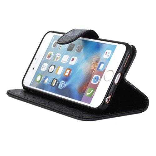 PU Silikon Schutzhülle Handyhülle Painted pc case cover hülle Handy-Fall-Haut Shell Abdeckungen für Smartphone Apple iPhone 6+Plus (5.5 Zoll)+Staubstecker (8XU) 6