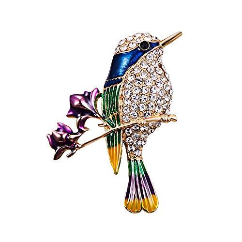 Clest F&H Branch Flower Bird Bro...