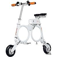 Airwheel E3 - Patinete Eléctrico con Bolsa de Transporte, Blanco