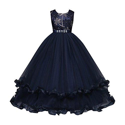 Amphia - Kinder Carnival Tutu - Mesh Rock - Tutu Rock - Kinder Mädchen Baum Bowknot Kristall Formale Prinzessin Net Garn Party Kleid Kleidung