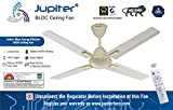 "Jupiter Quadcopter Bldc 48"" Energy Efficient Remote Controlled C/Fan Royal Ivory Deco 4 Blades"