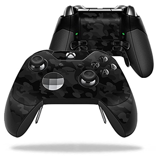 kleber kompatibel mit Microsoft Sticker, 100 Schwarz-Camo Microsoft Xbox One Elite Controller ()