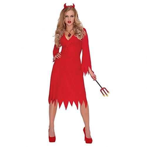 Kostüm Für Erwachsene Red Damen Hot Devil - Christy 's Erwachsenen Kostüm Red Hot Devil Standard (M)