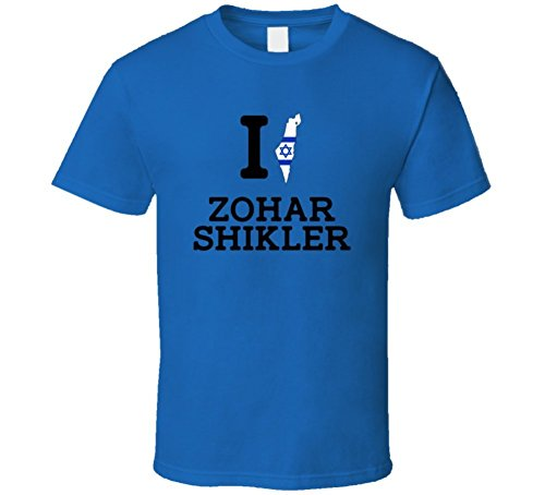 I Love Zohar Shikler Israel Swimming 50 M Freestyle Olympics T Shirt Small