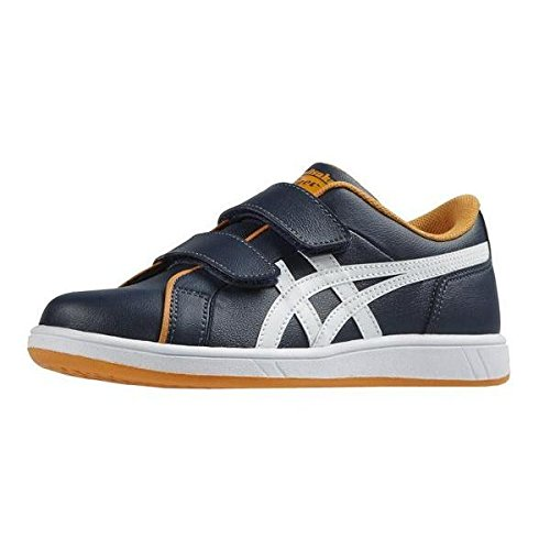 Onitsuka Tiger Larally Ps, Unisex-Kinder Sneakers bunt - Multicolore - Blue Marino/White