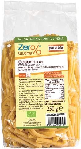 Caserecce di farina di avena Zero% Glutine 250 g BIO