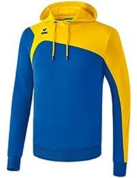 erima Club 1900 2.0 con Capucha para, Infantil, Color Azul y Amarillo, tamaño