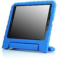 MoKo Samsung Galaxy Tab A 9.7 Pulgadas 2015 - Tableta Funda, ligero y super protective funda diseñar especialmente para los niños, azul