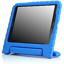 MoKo Samsung Galaxy Tab A 9.7 Pulgadas 2015 Tableta Funda - Ligero y super protective funda diseñar especialmente para los niños, AZUL