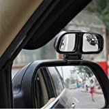 #3: Right Side 3R Car Mirror Blind Spot & Parking Mirror Multi Angle Adjustable For Maruti New Swift