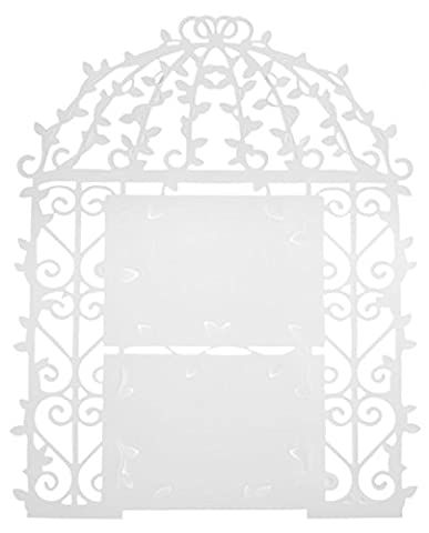 SANTEX 4580-1, Plan de table Cage, plastique blanc