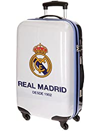Real Madrid One Color One Club Equipaje Infantil, 67 cm, 53 Litros, Blanco