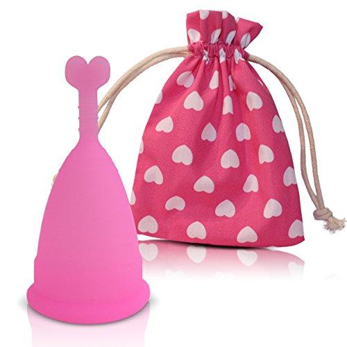 Coppetta mestruale CozyCup | Coppa mestruale (piccola, rosa)