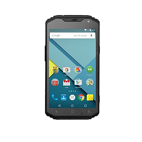 Logic Instrument Fieldbook F1 Professional Smartphone (Octa Core, 13 MP Kamera, 15 cm (6 Zoll), Full-HD Bildschirm, Dual-SIM, HDMI-Anschluss, NFC, WiFi, IP68) schwarz