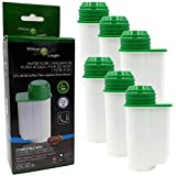 6x FilterLogic CFL-901B Wasserfilter ersetzen BRITA Intenza Nr. TCZ7003 - TCZ7033 - TZ70003 - 575491 - 467873 Filterkartusche für Bosch / Siemens / Neff / Gaggenau Kaffeemaschine Kaffeevollautomat