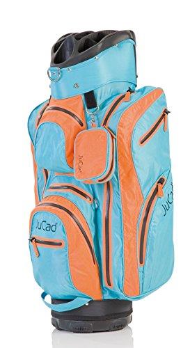 JuCad Golf Bag Aquastop wasserdicht Golfbag Farbe: orange-blau (Blau Und Orange Golf-bag)