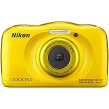 Nikon Coolpix S33 Fotocamera Digitale Compatta, 13,2 Megapixel, Zoom 3X,