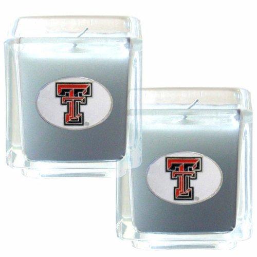 Texas Dekor (Siskiyou NCAA Kerzen-Set, Texas Tech Red Raiders)
