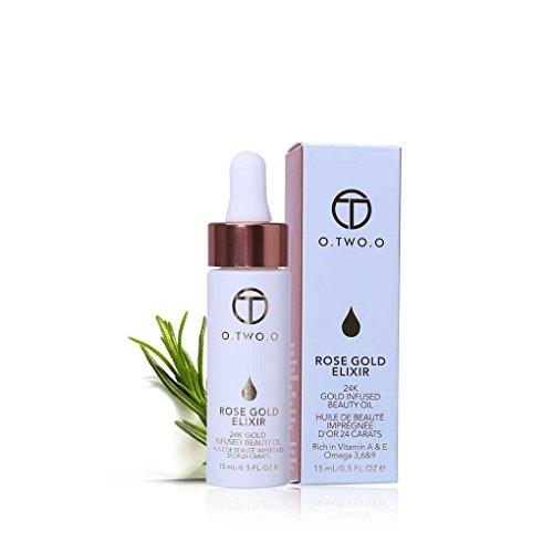 F-blue O.Two.O Rose Gold Elixir Make up Ätherisches Öl Feuchtigkeitsspendende Gesichtsöl für Alle Hauttypen