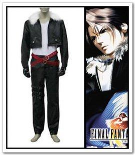 Kostüm Leonhart Cosplay Squall - FINAL FANTASY VIII Squall Leonhart cosplay Kostüm(Mailen Sie uns Ihre Größe)