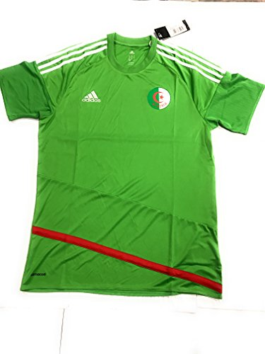 5bcf7ade44623 adidas 2017-2018 Algeria Away Football Soccer T-Shirt Maglia