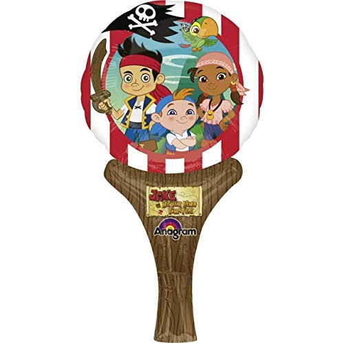 Anagram Inflate-a-Fun Foil Balloon - Jake Never Land Pirates