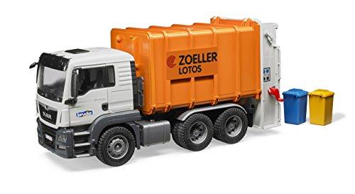 Preisvergleich Produktbild Bruder 03762 - MAN TGS Müll-LKW Hecklader, Fahrzeug