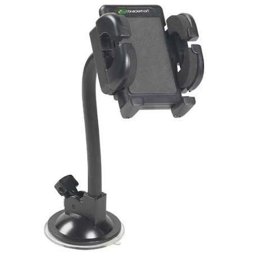 Bracketron Grip-iT Halterung für die Lüftungsschlitze Montage an der Windschutzscheibe GPS/Smartphone/MP3 Grip-iT Mount Schwarz Bracketron Gps-mount