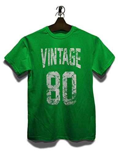 Vintage 1980 T-Shirt Grün