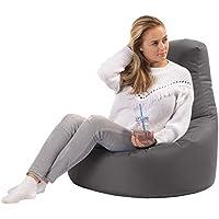 sunnypillow Gaming Sitzsack XXL mit Styropor Füllung Outdoor & Indoor für Kinder & Erwachsene Sitzsäcke Sitzkissen…
