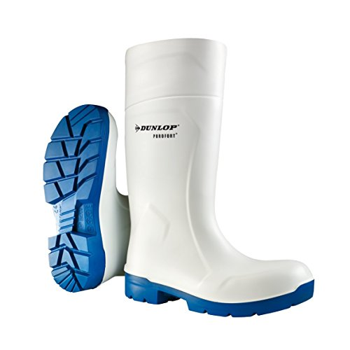 Dunlop CA61131 FoodPro Purofort MultiGrip Safety Wellingtons White