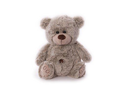 Preisvergleich Produktbild Inware 6490 Teddybär mit Bauchnabel, 19 cm, Plüsch