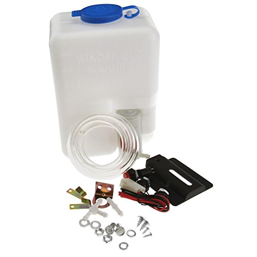 Neu 12V Universal Scheibenwaschanlage Scheibenwaschpumpe Flasche Reiniger