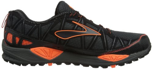 BROOKS Cascadia 8 Scarpa da Trail Running Uomo Black Orange