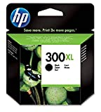 HP 300XL CC641EE Cartuccia Originale per Stampanti a Getto di Inchiostro, Compatibile con le DeskJet D2560, D2660, F4280, F4224, F4283 e Photosmart Serie C, Nero