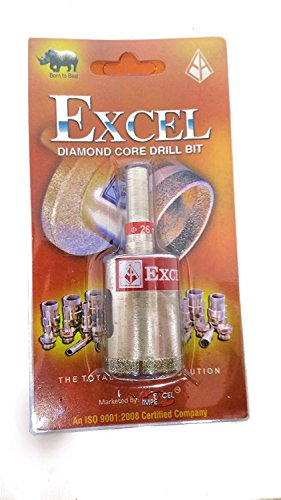 Excel Impex Core Drill Bit-20 mm Dia; Metallic